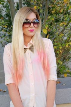 New Hair Color Pink Blonde Summer 43 Ideas - Hair Colors Blonde Ideen Hair Color Pink, Hair Color For Black Hair, New Hair Colors, Blonde Color, Love Hair, Pink Hair, Pretty Hair, Brown Hair, Ash Blonde Ombre Hair