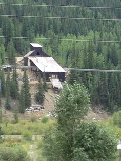 An old mine between cinnamon pass and Silverton, Colorado
