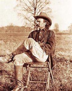 Old West Hunter Trapper Vintage Photo Arizona Frontiersman 1889 ...