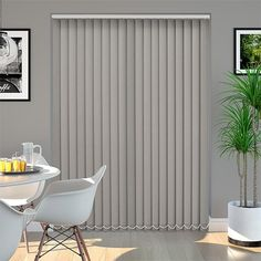 Are you the one planning to provide a chic and elegant look to your house? Then, choosing vertical blinds Birmingham is the right choice for you.  #BestVerticalblinds #Verticalblinds #VerticalblindsBirmingham Types Of Blinds, Blinds Online, Sliding Door Blinds, Bathroom Windows, Patio Doors, Window Coverings, Windows And Doors, Wall Colors, Elegant