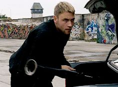 Wolfgang played by Max Riemelt Sense8