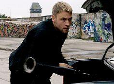 Wolfgang played by Max Riemelt Sense8