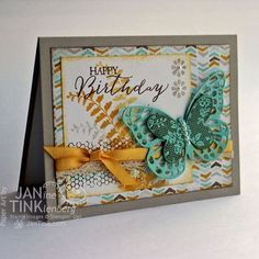 Stampin' Up! Butterfly Basics,