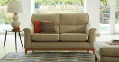 Beautiful New Sofa from Parker Knoll available in a choice of fabric or leather.