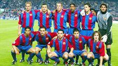 EQUIPOS DE FÚTBOL: BARCELONA contra Juventus 22/04/2003
