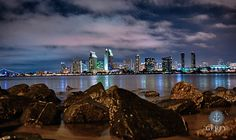 "500px / Photo ""San Diego Skyline"" by Serena Gerfy"