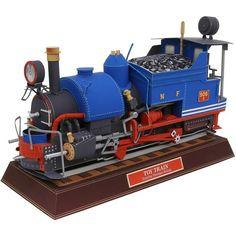 Игрушечный поезд,Транспорт,Поделки из бумаги,мировое наследие,в стиле ретро ,поезд,локомотив,поезд