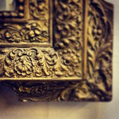 French gilded mirror detail / antique / Frenchfinds.co.uk