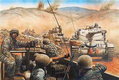 Combined assault Golan Heights, 10 June 1967