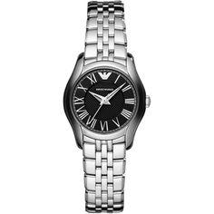 NEW Emporio Armani Luxury Watch Women AR1715 Silver Stainless Steel #EmporioArmani #Casual