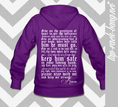 In Stock Small  Deployment Prayer Hoodie by TapRackBangNet on Etsy