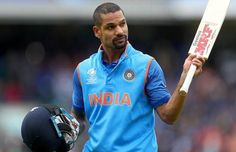 According to reports in Indian media, their Cricket team has suffered a massive blow, as Shikhar Dhawan was ruled out for the next 3 weeks due to a thumb World Cup Games, Ravindra Jadeja, Shikhar Dhawan, Upcoming Matches, 3 Weeks, Cricket, Car Drawings, Indian, Sports