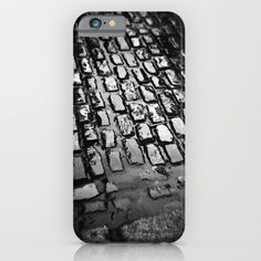 Cobblestones iPhone Case by mariecarrphotography Phone Covers, Ipod, Photograph, Iphone Cases, Profile, Plastic, Slim, Black, Mobile Covers