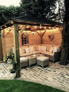 64 Creative DIY Patio Gardens Ideas on a budget # Patio Garden, small Budget Patio, Patio Garden Ideas On A Budget, Patio Diy, Patio Pergola, Backyard Patio Designs, Small Backyard Landscaping, Pergola Designs, Backyard Ideas, Pergola Ideas