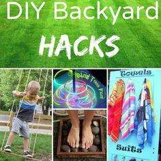 .back yard hacks