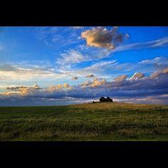 North Dakota countyside by @fabioclock