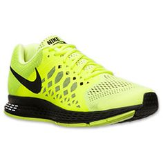 Men's Nike Air Pegasus 31 Running Shoes | Finish Line | Volt/Black