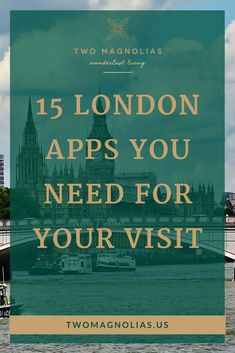 Take your visit to #London from ho-hum to amazing with these must-have apps. They will help you navigate the city like a local and find the hidden London. #travel #Wanderlust