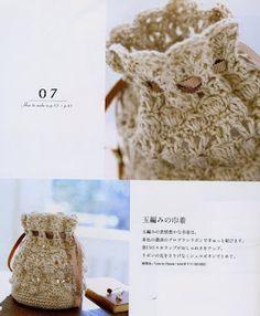 Crochet Baby y Clutch En Crochet, Crochet Sachet, Crochet Drawstring Bag, Crochet Pouch, Crochet Diy, Crochet Bags, Beaded Crochet, Crochet Handbags, Crochet Purses