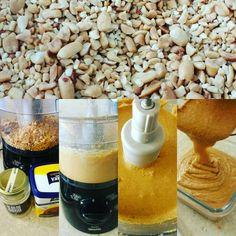 #passoapasso da minha #pastadeamendoim  #detalhes do meu #vicio 😍 #amoooo #Receita⬇ ✔1°Passo↔ Aqueça os amendoins no forno (eu compro já triturado) ✔2°Passo↔ Bater bastante no processador até virar uma pasta ✔3 °Passo↔ De 1 a 2 colheres de óleo de coco ✔4° Passo↔Adoçante ou açúcar mascavo se desejar . ✔Obs: Para dar o ponto de pasta o #amendoim precisa estar quente.