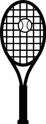 tennis clip art   die cutting