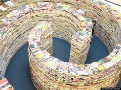 Book Sculpture at London 2012 Festival