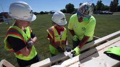 "Miron Construction held its first ""Build Like a Girl"" event on Friday, bringing in 30 female students from the area to learn more about construction and the trades."