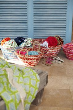 great baskets that could be made with rags