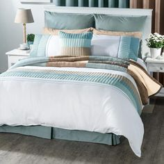 Designer Collection home accessories for sale online from Volpes, South Africa's specialist online linen store. Linen Bedroom, Linen Store, Designer Collection, Duvet Cover Sets, Home Accessories, Comforters, Blanket, Creature Comforts, Quilts