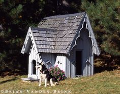 Gothic Dog House.circa 1880's.Bangor, Maine