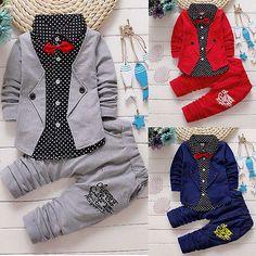Gentleman Clothing Shirt   Pants 2 Piece Set