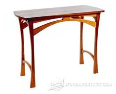 4028-Accent Table Plans