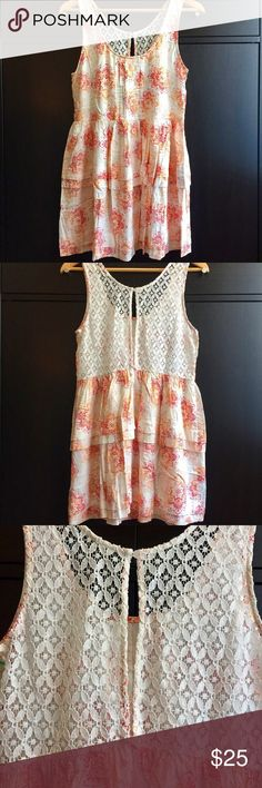 ♥️SALE♥️ NWT EN CRÉME DRESS Brand: EN CRÉME Size: Small Condition: NWT Occasion: Summer, Picnic Or Pure Simple Fun Time 🌼  Details 🔅Scoop Neck 🔅Sleeveless 🔅Elasticized Waist 🔅Lace Back 🔅Back Keyhole 🔅Pattern Print 🔅Imported  Fiber Content 🔅Self: 100% Rayon 🔅Contrast: 80% Cotton / 20% Nylon   Care Instructions 🔅Dry Flat 🔅Hand Wash 🔅Do Not Bleach Or Iron  Please Let Me Know If You Should Have Any Questions. Thank You For Looking 😘 EN CRÉME Dresses