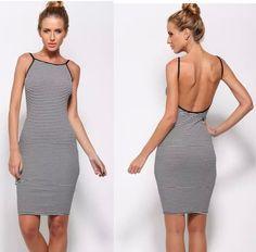 d69f515c589 Sling Halter Dress. Beach DressesCasual DressesSexy DressesDress  SummerSummer ...