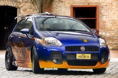 The first Hot Wheels ® car in size in Brazil is based on the Punto. This project was born of a cultural contest, the result of a partnership with Fiat Cars Mattel Brazil, which had as its mission to develop a prototype, full scale (1:1), applied to a Fiat Punto HLX.