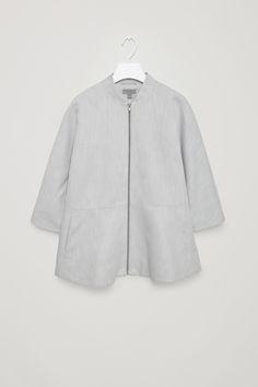 COS | Jacket with frill hem