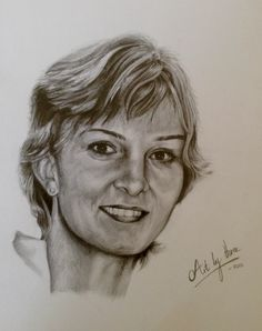 Denise pencil sketch
