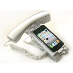 Fits virtually all wireless iphone, Reduce radiation emission and change your mobile phone into a office phone...$39.94.