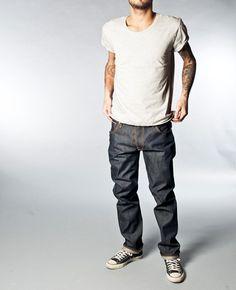 Hank Rey Org. Dry Selvage - Nudie Jeans Co Online Shop
