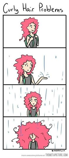 Curly Hair Problems…