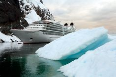 Seabourn Quest in #Antarctica - #Cruise #Travel