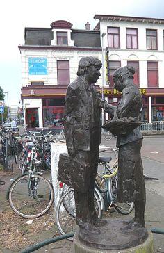 Kees Verkade  Bloemenmeisje  Haarlem