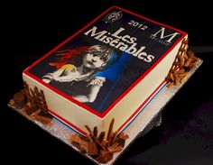 Les Miserables - Cake Wrecks - Sunday Sweets For Book Lovers Day My Birthday Cake, 17th Birthday, Birthday Ideas, Happy Birthday, Lovers Day, Book Lovers, Les Miserables Cast, Broadway Party, Book Cakes