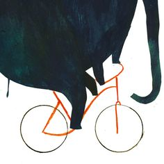 Reason TWO for using bike: Art Print