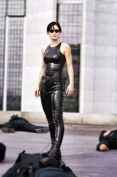 Trinity is hot and she is great in The Matrix