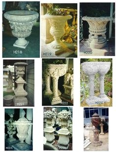 Classic Sculptural planter ideas for my garden