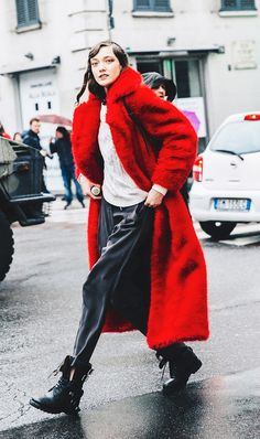 The Empowering Color That's All Over the Street Style Scene | WhoWhatWear