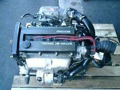 90-94 JDM BP-T 323 GT-X TURBO ENGINE, AWD TRANSMISSION, CUT HARN Jdm Engines, Mazda, Engineering, Car, Motors, Automobile, Technology, Autos, Cars
