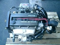 90-94 JDM BP-T 323 GT-X TURBO ENGINE, AWD TRANSMISSION, CUT HARN