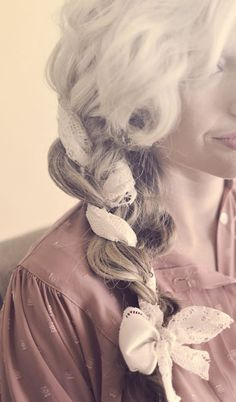 The Shine Project: Hair How To: Les Mis Inspired Braid